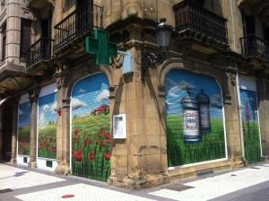 Persiana farmacia calle Prim donostia